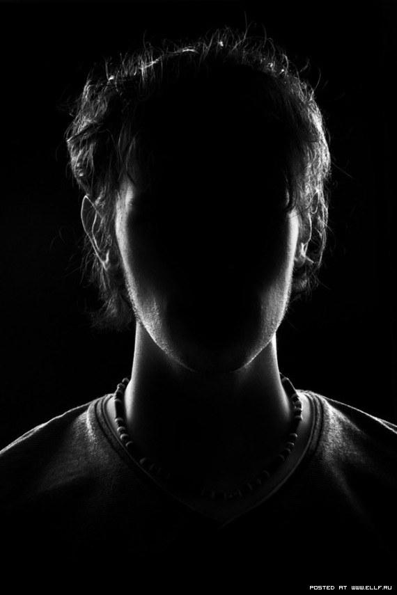 Темная картинка где нет лица