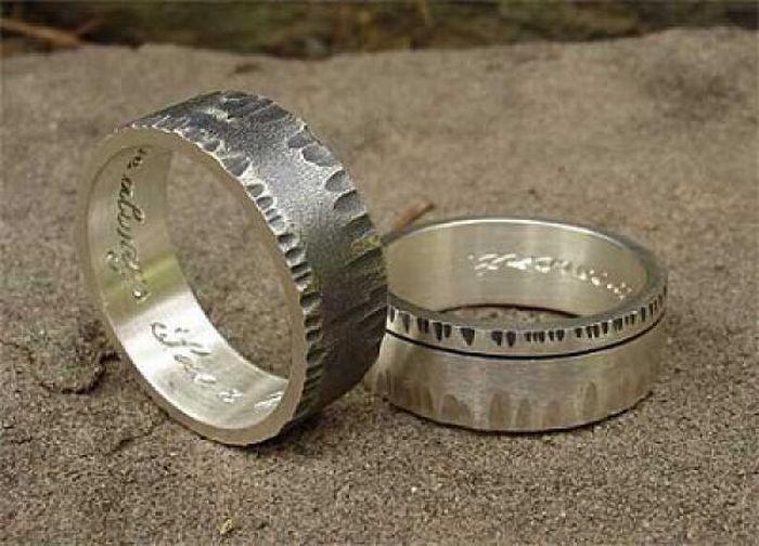 Кративные обручальные кольца