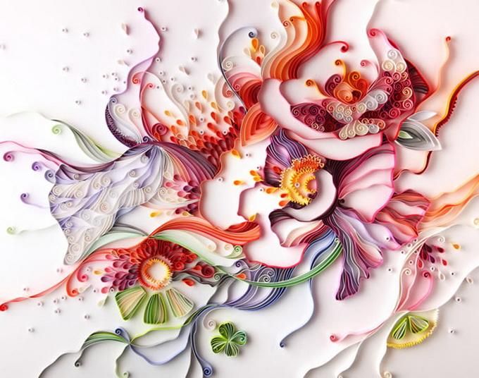 Бумажное искусство Юлии Бродской
