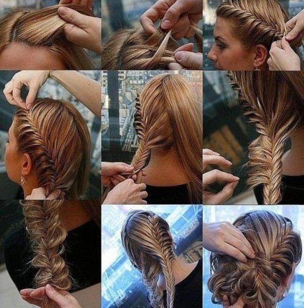 Модные косы как делать