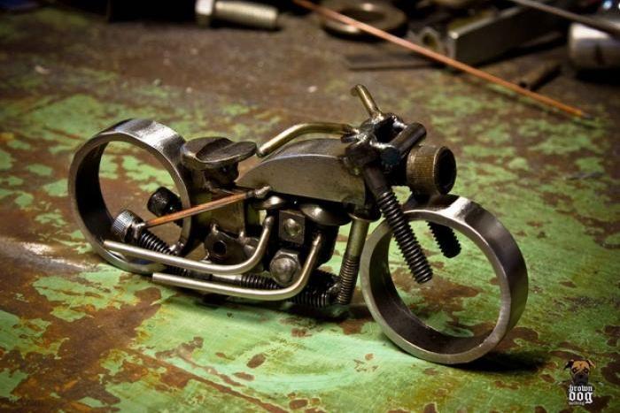 Мотоцикл что сделать