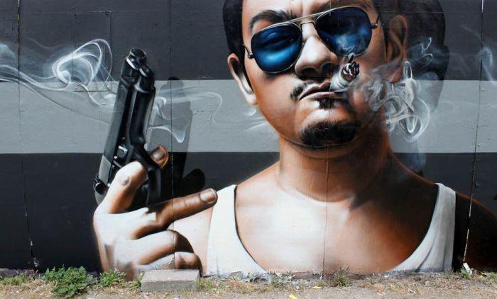 Уличное искусство от SmugOne