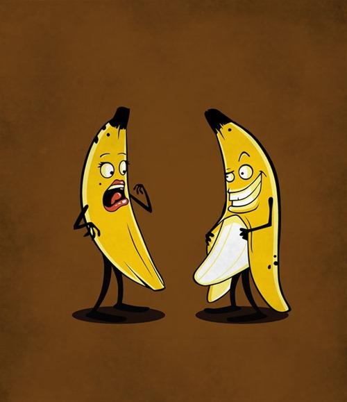 Надписью целую, люблю бананы прикольные картинки