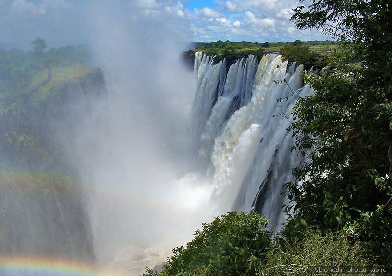 Водопад Виктория - Купель Дьявола