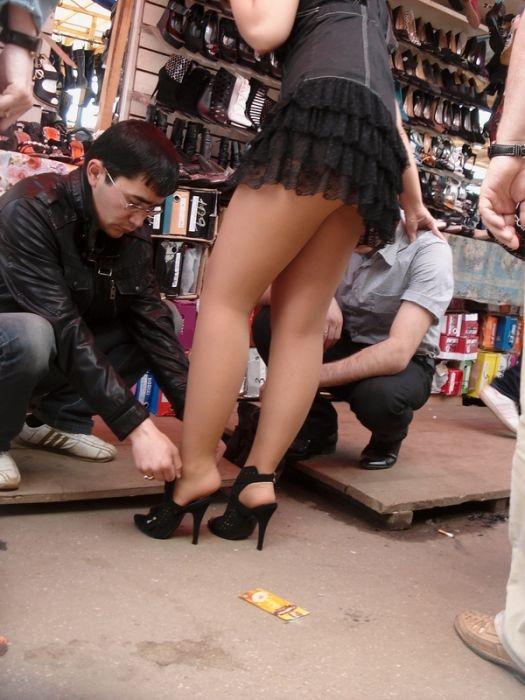 Ветерок под юбками