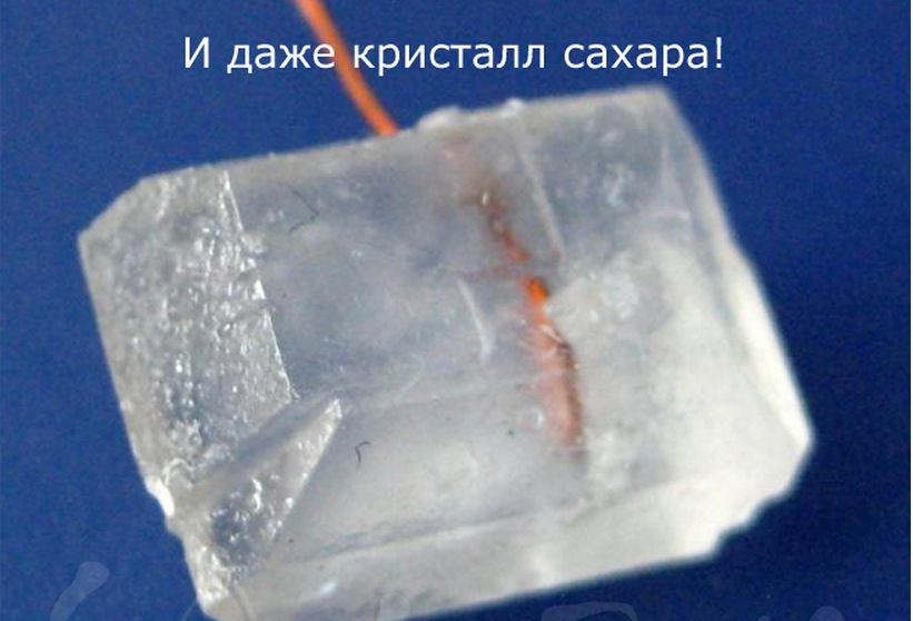 Сахар как сделать кристаллы