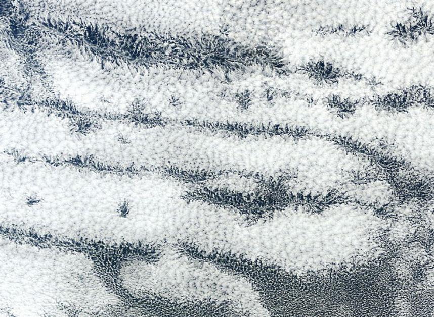 Облака необычной формы