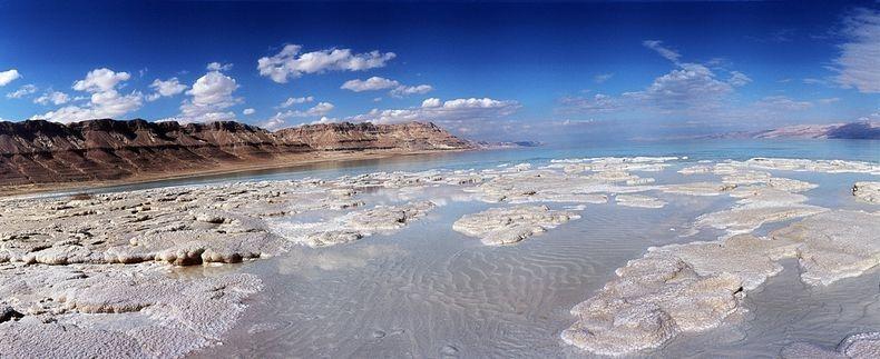 """Соляные """"скульптуры"""" Мертвого моря"""