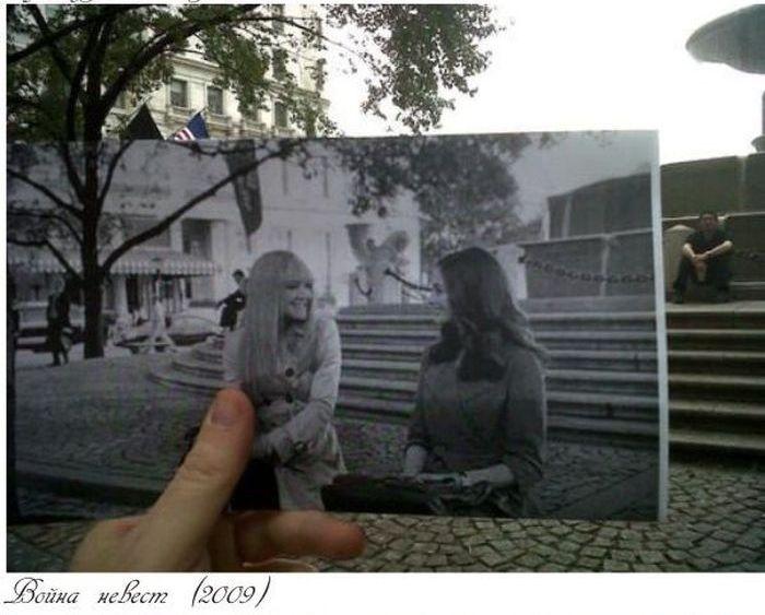 Фото в местах съемок фильмов