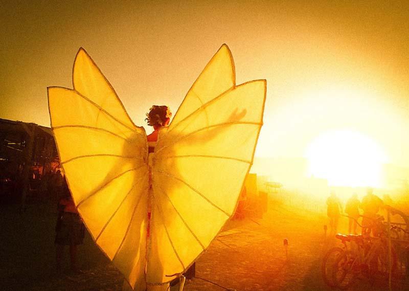 Инсталляции на фестивале Burning Man глазами Трея Рэтклиффа