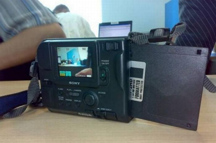 Фотоаппарат на дискетах Sony Digital Mavica MVC-FD73