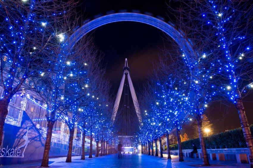 Рождественская атмосфера европейских городов
