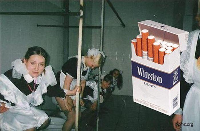 прикольные фото с сигаретами