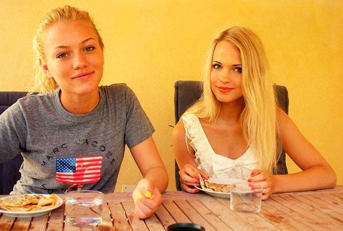 Симпатичные девушки