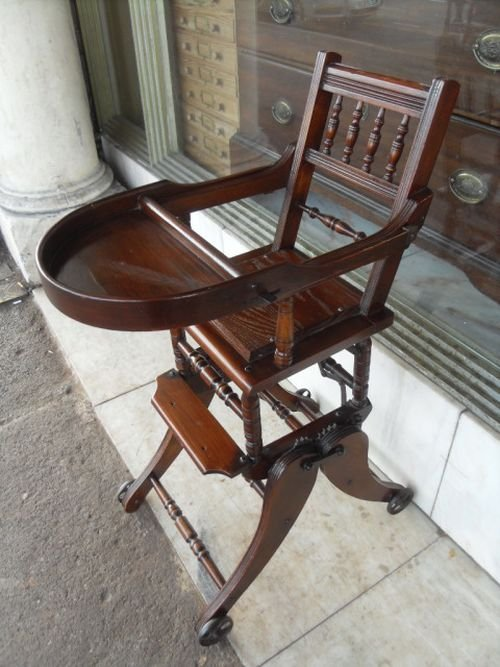 Ретро-стул-качалка