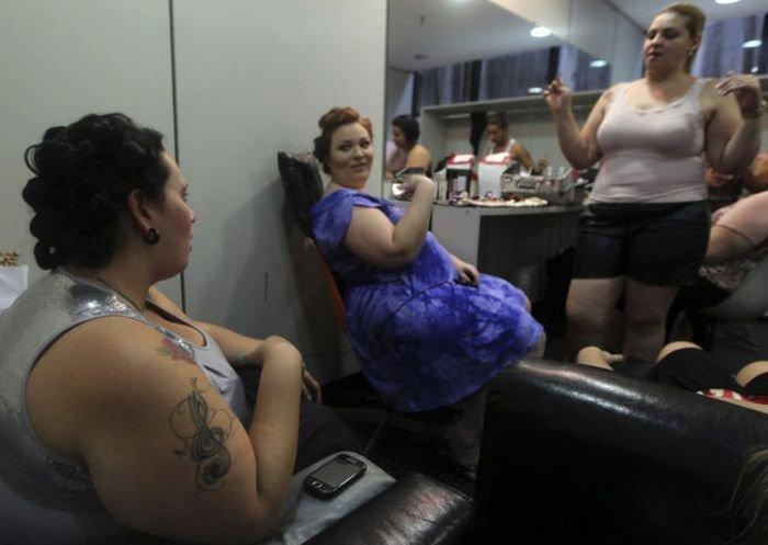 Нестандартный показ мод в Бразилии