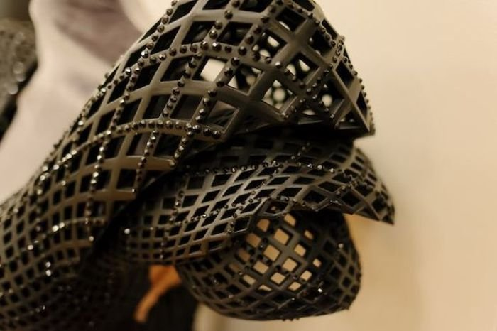 Платье, напечатанное на 3D-принтере
