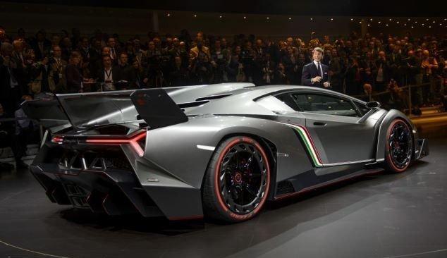 Эксклюзивный суперкар ко дню рождения концерна Lamborghini