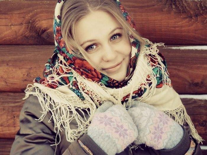 Фото красивых русских женщин