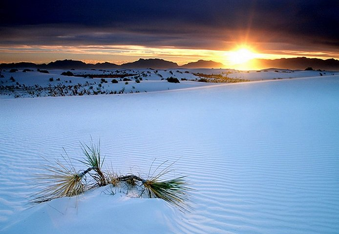 White Sands Desert (������� ����� ������)