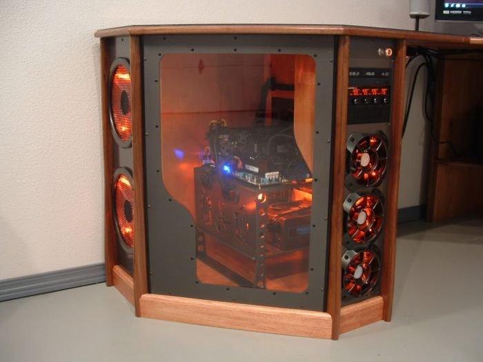 Компьютер в столы своими руками