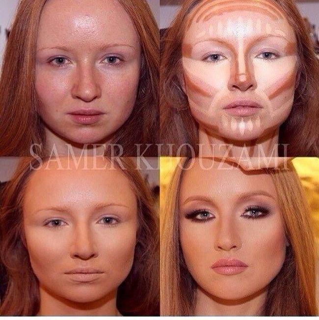 Игра делать макияж по фото