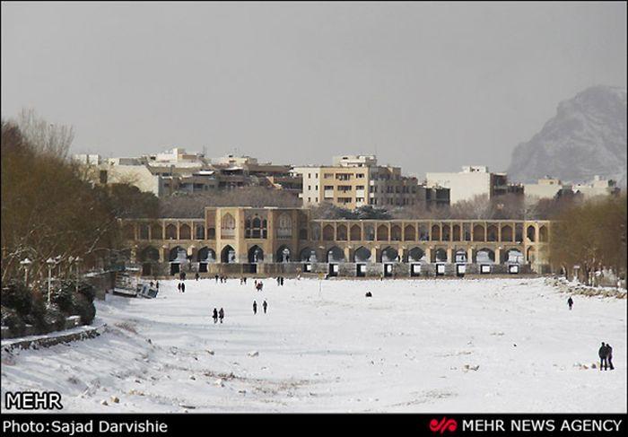 Снегопад в Иране за последние 50 лет