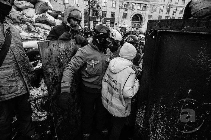 Как выглядит улица Грушевского в Киеве