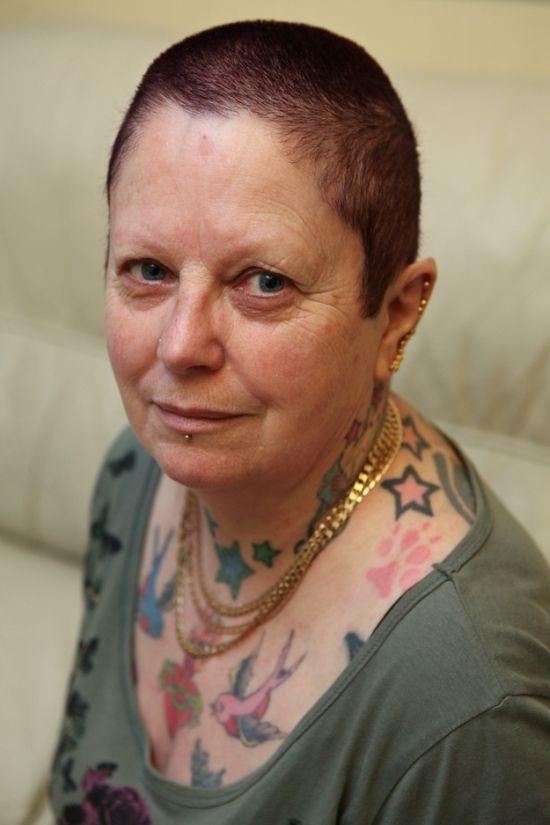 Татуированная бабушка
