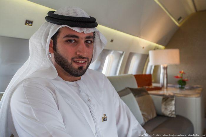 Бизнес-класс для арабских шейхов