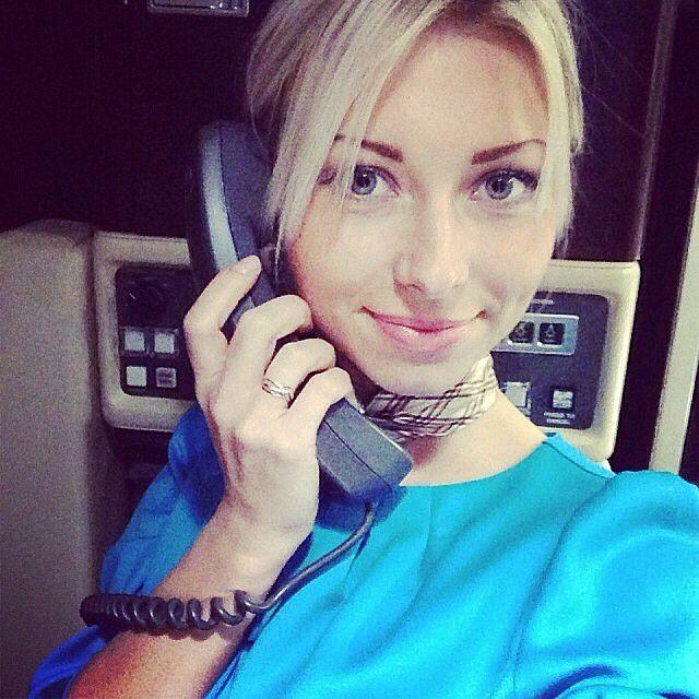 Привлекательные русские стюардессы