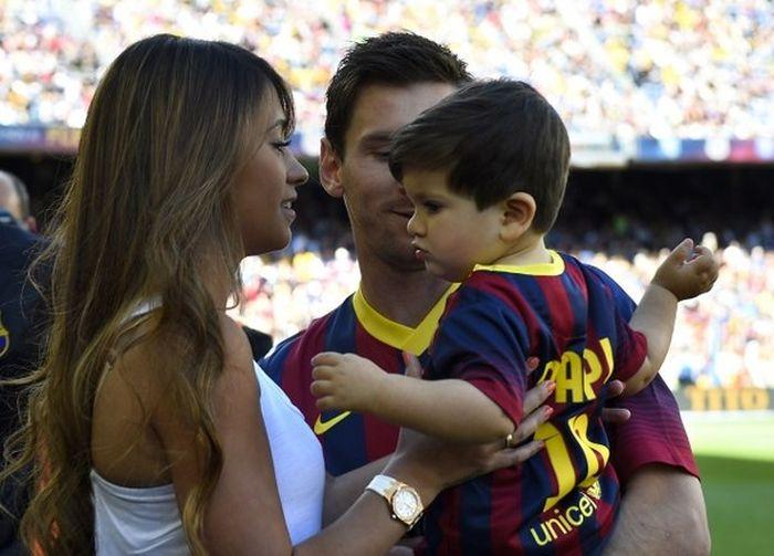Жена форварда Барселоны Лионеля Месси