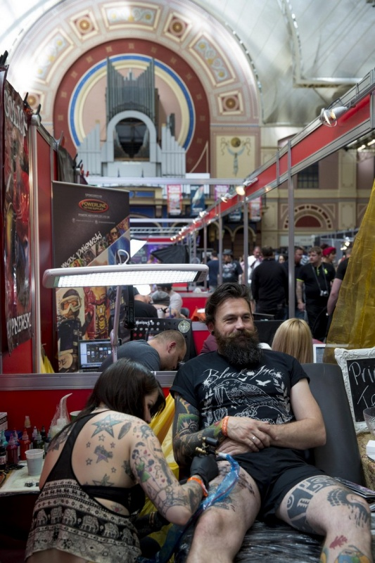 Выставка The Great British Tattoo Show в Лондоне