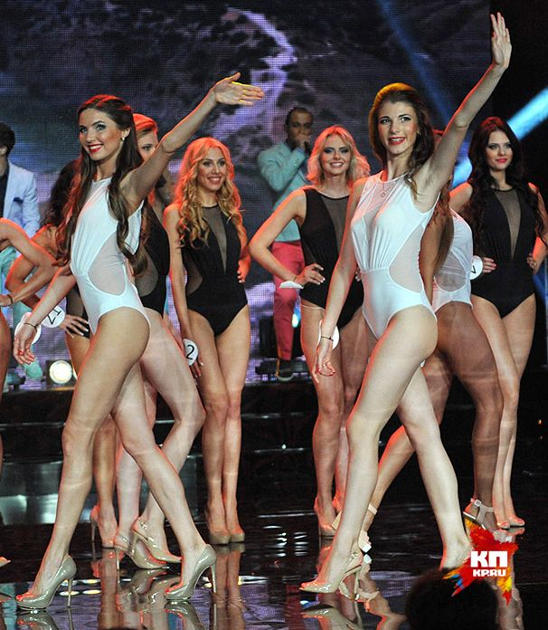 Борьба за место на конкурсе Мисс Москва 2014