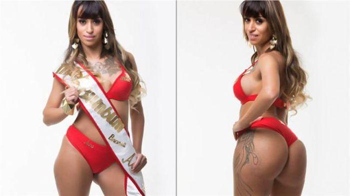 Бразильский конкурс мисс ягодицы