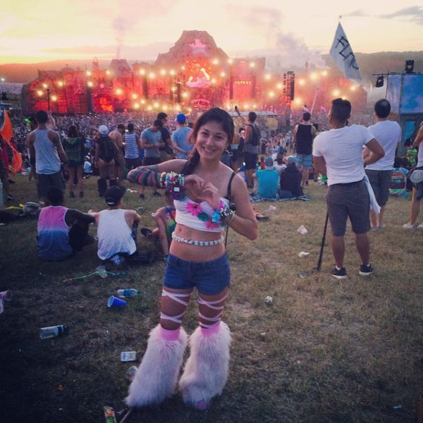 Девушки с фестиваля ''Tomorrowland 2014''