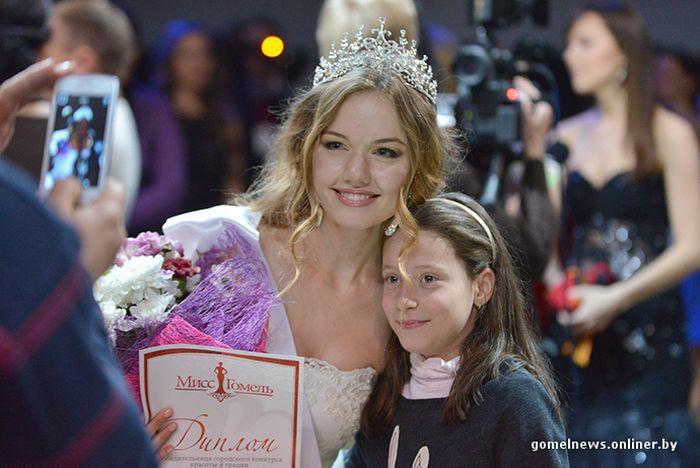 Фоторепортаж с конкурса красоты «Мисс Гомель - 2014»