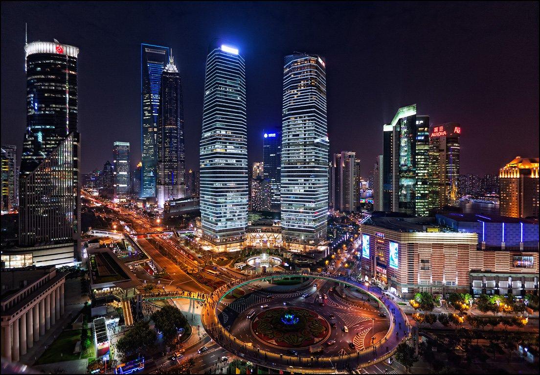 Мир вокруг нас. Красивые фотографии вечерних городов и улиц