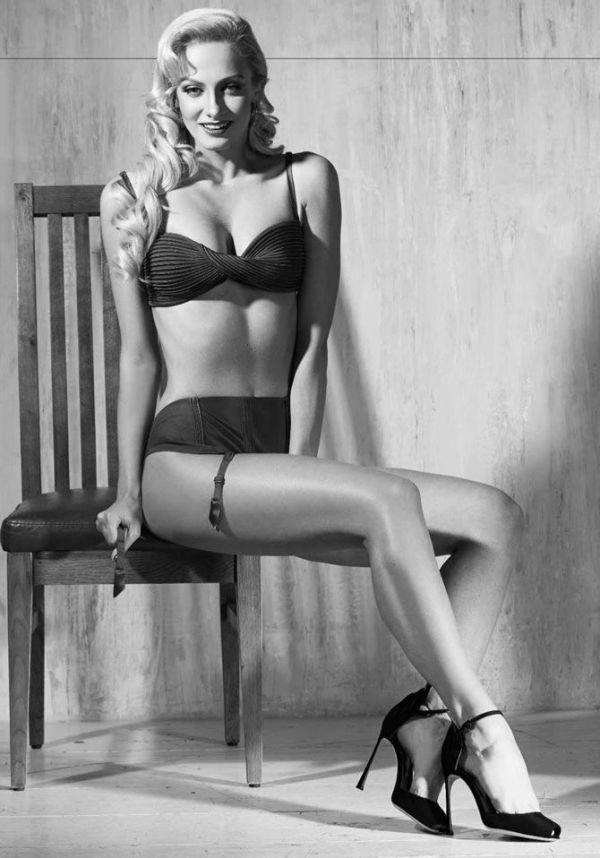 Полина Максимова, Лёля из сериала «Деффчонки», для январского номера журнала Maxim