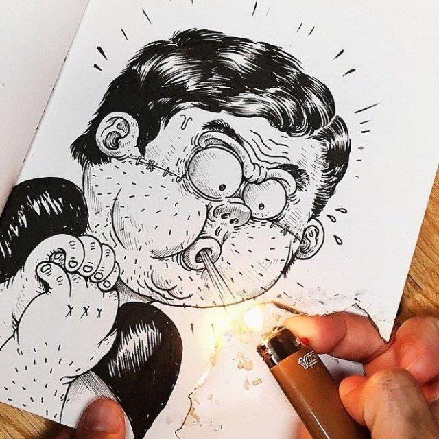 Фото прикольных картинок как нарисовать