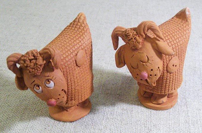 Фигурки из глины своими руками фото
