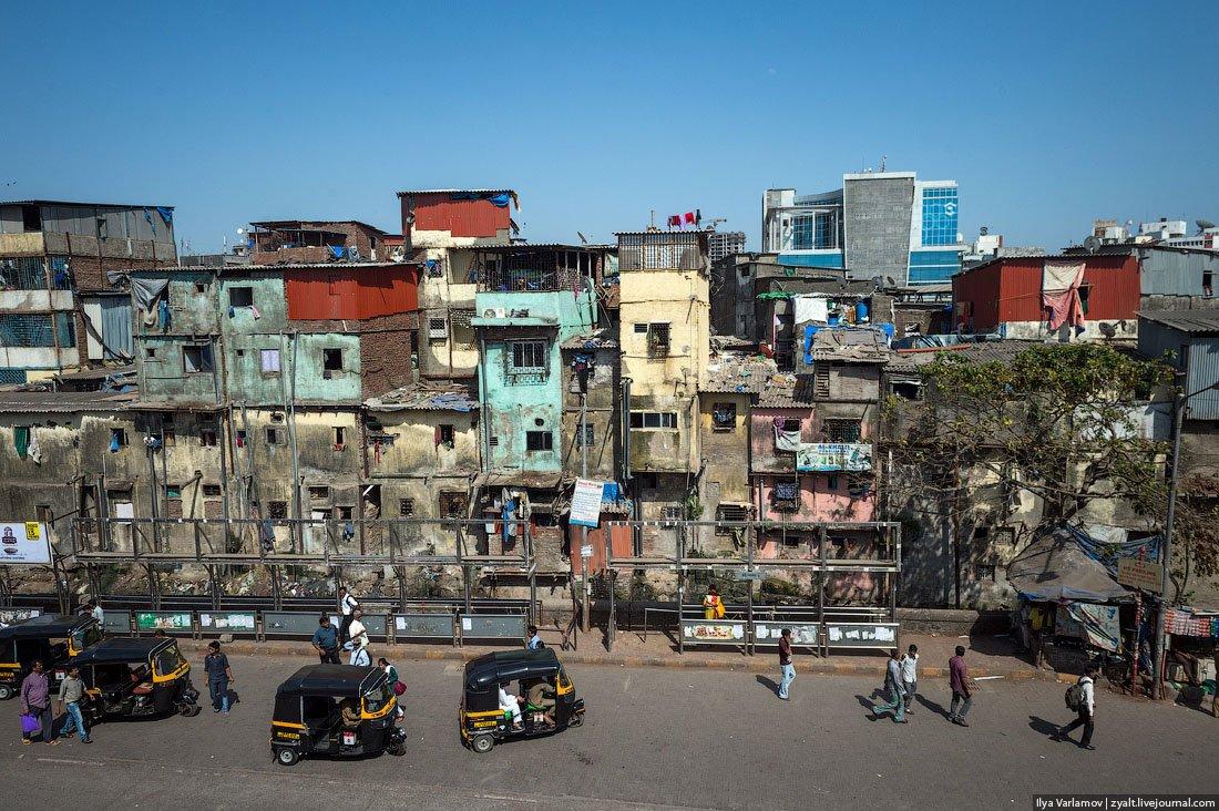 индийские трущобы фото резчики