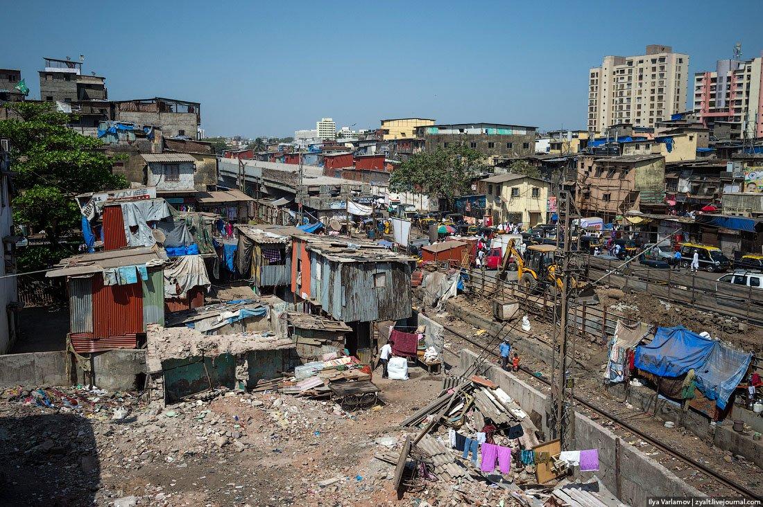 Индия трущобы фото