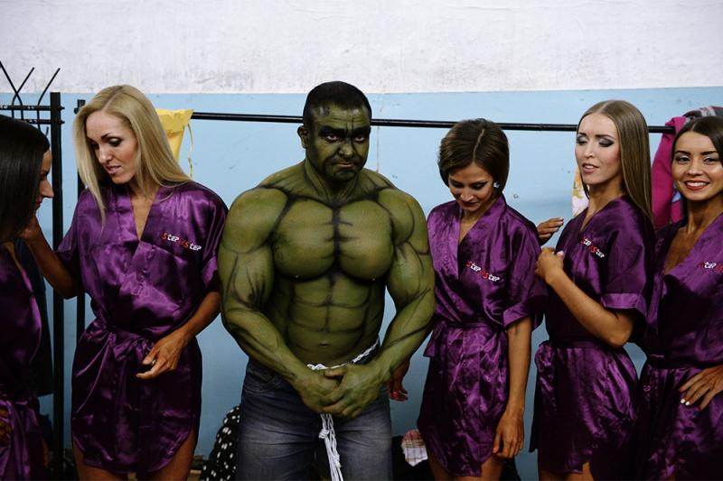 В честь Победы в Новосибирске прошел открытый чемпионат по бодибилдингу