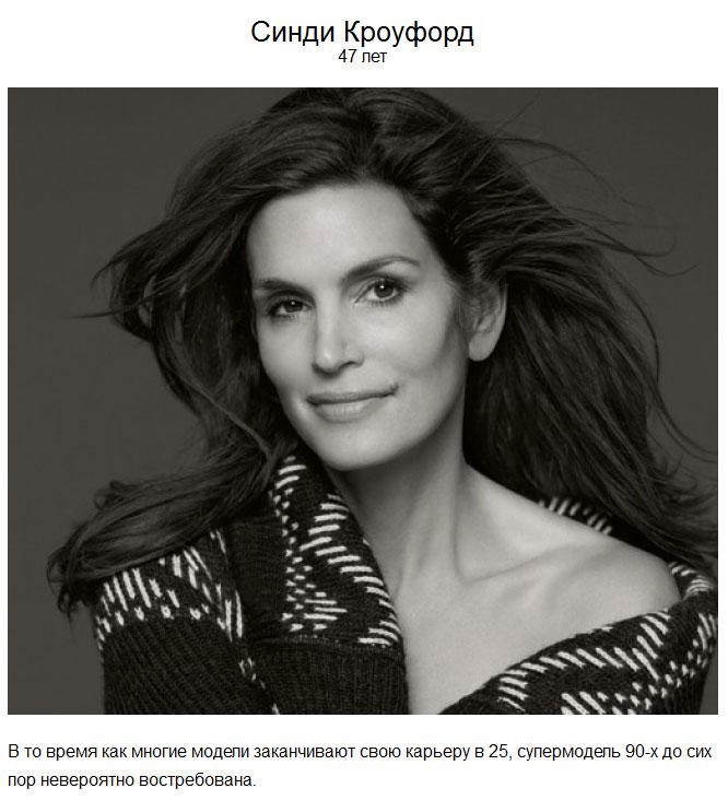 Красота и популярность в 40 и «за 40»