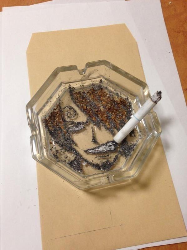Рисунки про то как курение