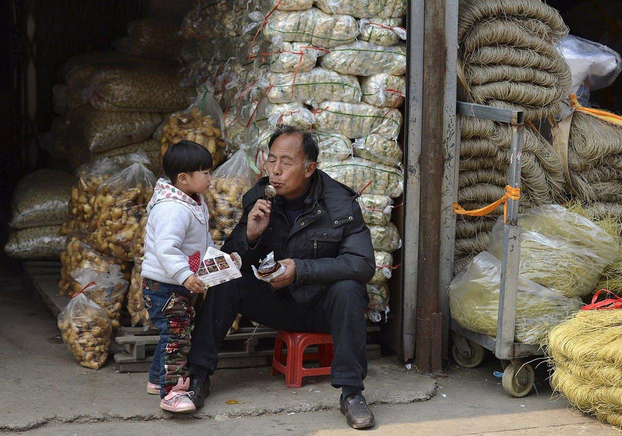 как живут обычные китайцы фото два года водоем
