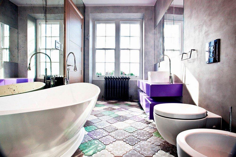 Лучшие интерьеры ванных комнат 2015 года фото