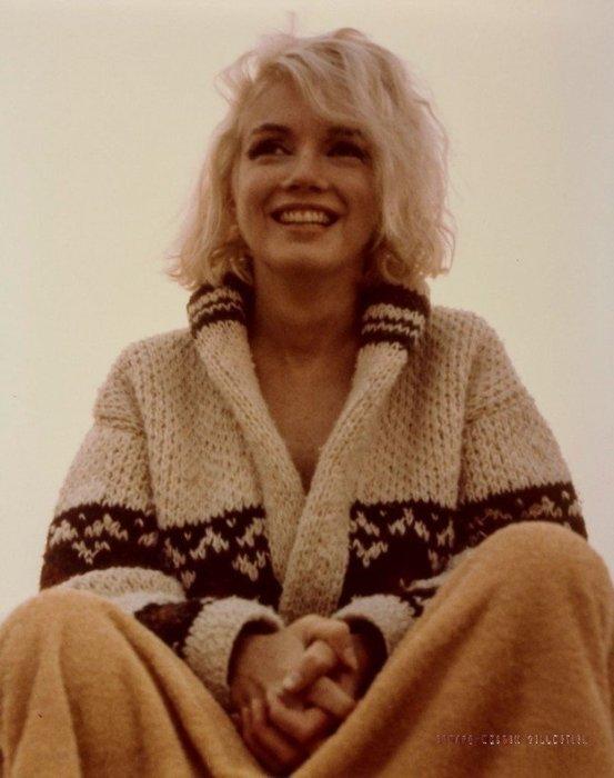 Фото из последней фотосессии Мэрилин Монро