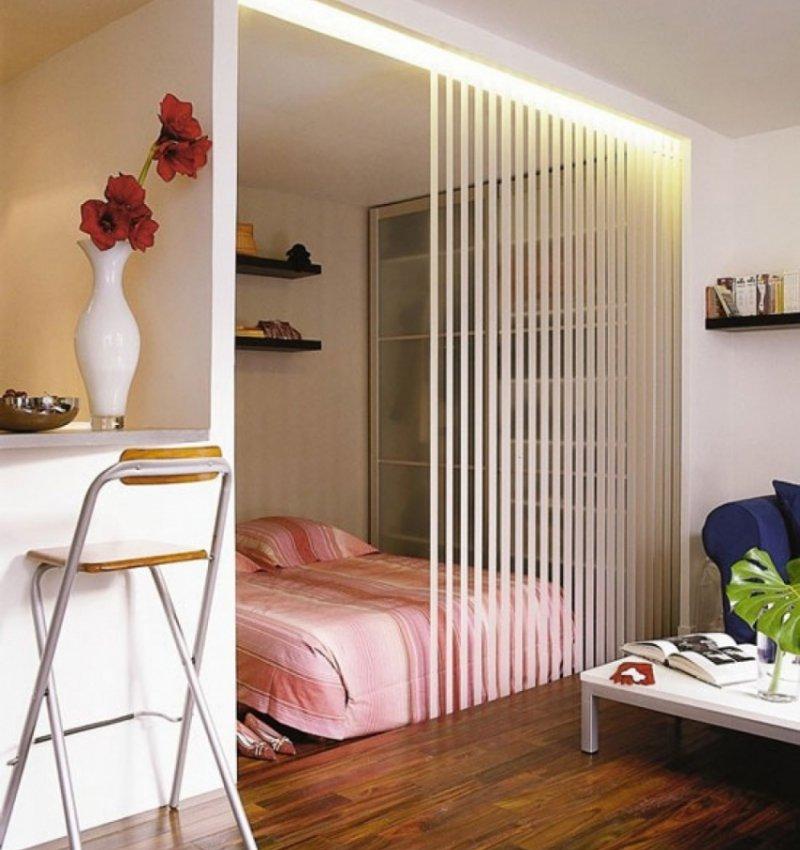 Дизайн однокомнатной квартиры гостиная спальня